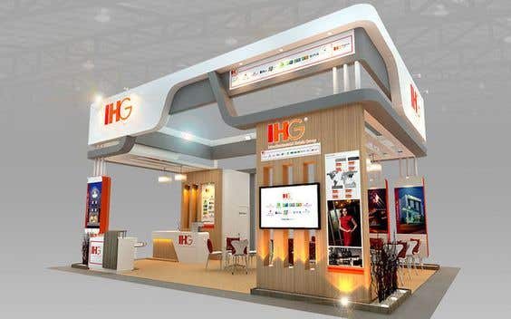 Design and Rendering of Booth by using 3ds Max | Freelancer