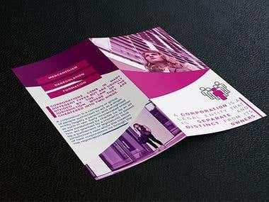 Unique Leaflet Design