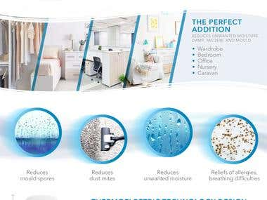 Pure Abode Dehumidifier Amazon+ Page