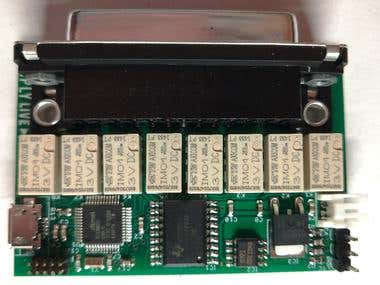 GPI Tally IO board