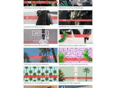 WordPress music magazine