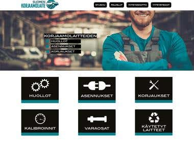 Create a wordpress theme from professionally made layout PSD