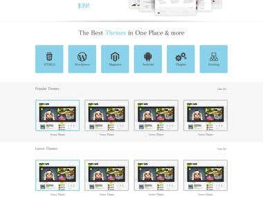 Business Template (Bootstrap)
