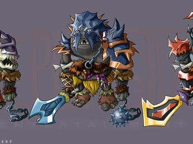 Mecha Gaming Character