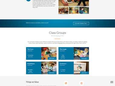 Nursery Website Development