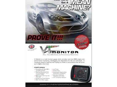 VI Monitor Advert