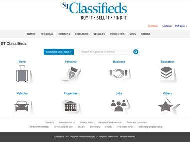 Buy Sell Classified Website