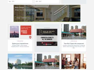 Real Estate Property Rental Website
