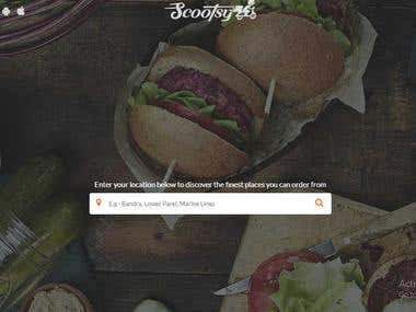 Food Ordering and eCommerce Store