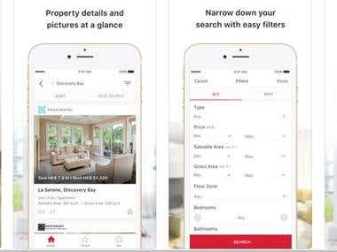 Real Estate Property Rental iOS & Android App