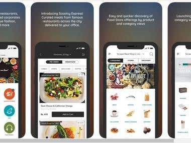 iOS & Android Online Food & Product ordering