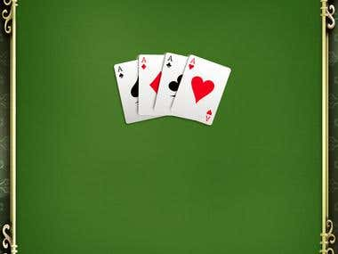 Solitaire Game Screen