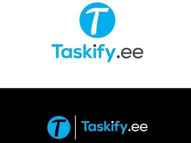 "Design-business-logo- ""Taskify.ee"""
