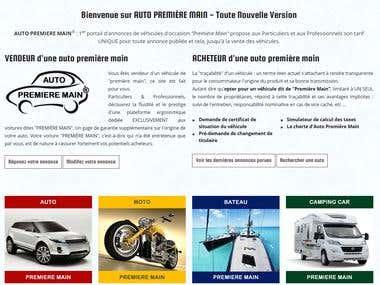 Site annonces auto