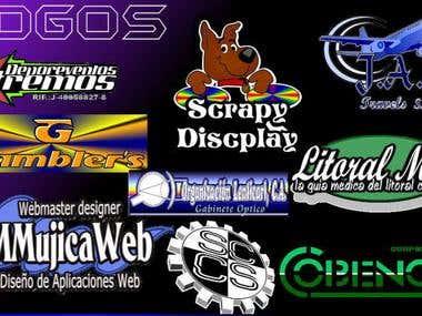 logos, afiches y carteles
