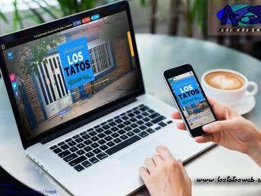 Página web creada a partir de Weebly.com con servicio pago.