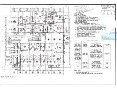 Fire Detection and Alarm System Design(Commercial Project)