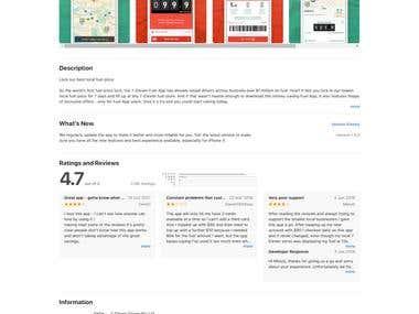 7-Eleven Fuel iOS app