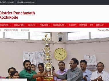Website for govt local body