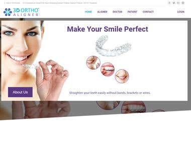 3D Ortho Aligners (Website)