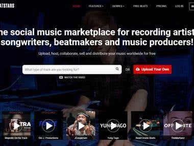 BEAT STAR | Music Marketplace
