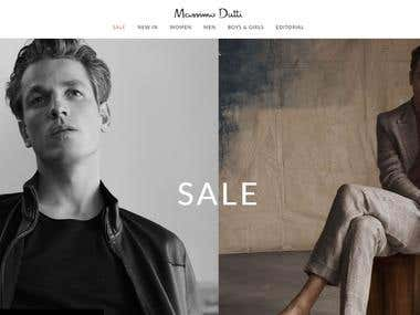 Massimodutti | Clothing website