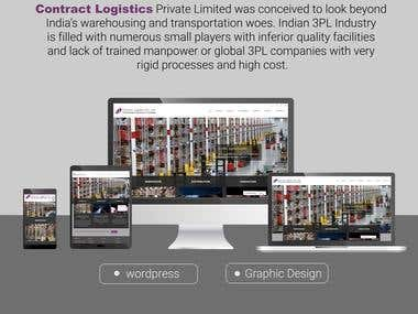 warehouse and logistic website