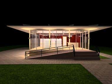 Mini-Mart Lighting Design using DIAlux EVO