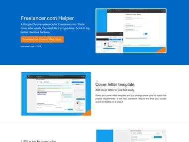 Freelancer.com Helper