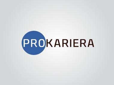 Projekt logo dla firmy Prokariera