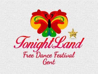 Tonight Land party logo