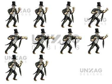 Arcade Game Character Spritesheets