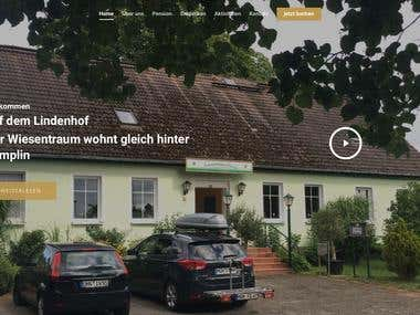 Hotel, hostel, apartment website