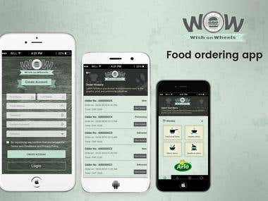 Food Ordering Android & iOS Application