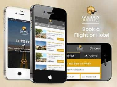 Golden Routes | Travel App
