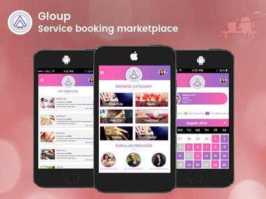Service booking Mobile Application