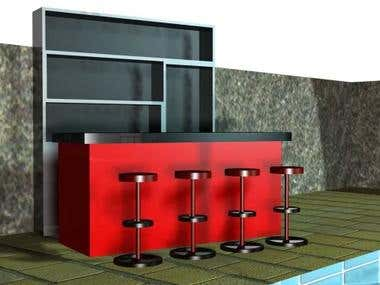 3D booth design