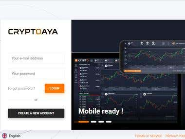 Crypto Currency Live Trading, Advanced Data, Market Analysis
