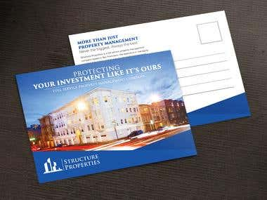 Creative, luxurious, Professional Post Card Design