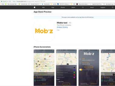 Mobiz Application for iOS