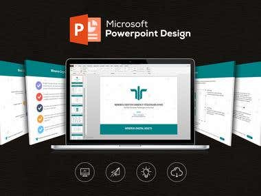Creative, luxurious, Professional Powerpoint Design