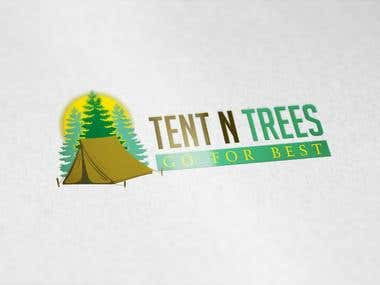 Logo design for a Tents Selling Business