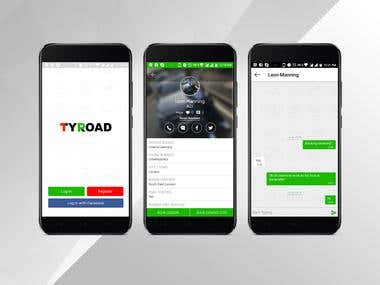 Tyroad Mobile Application