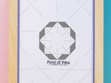 """Point of View"" Logo"
