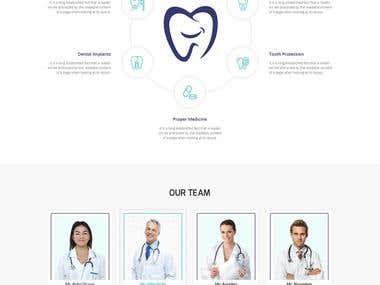 Design New WordPress Site Mockup