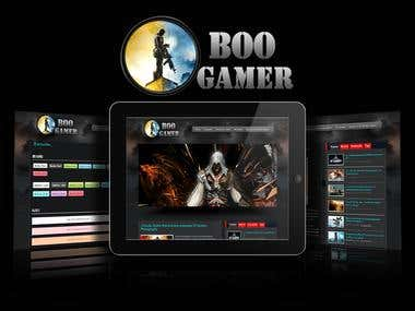 Boo Gamer - Premium Magazine Wordpress Themes