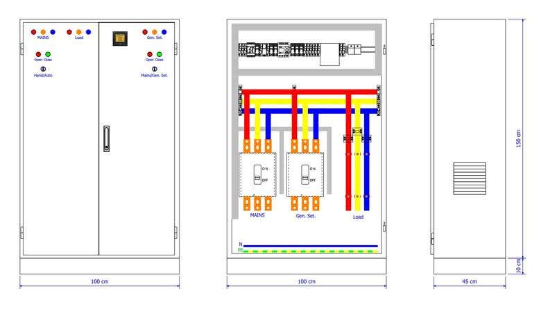electrical shop drawing by use eplan electric p8 software