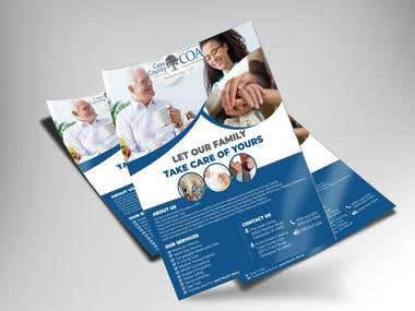 Flyer design (for Home care)