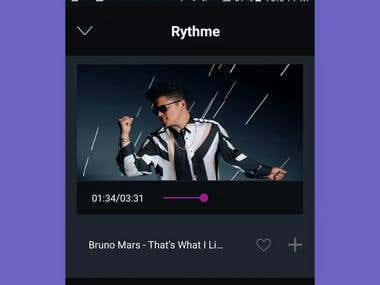 Rythme Unlimited Music Free: Songs in Background