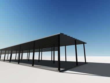 Solar structure in Narangba, Australia